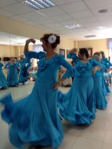 Sevillanas workshop in Madrid June 2014